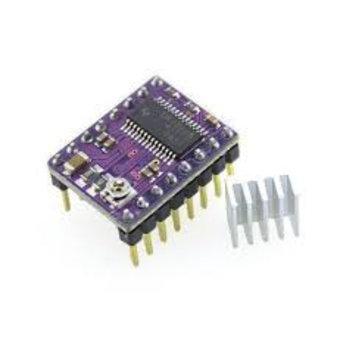 DRV8825 1/32 microstep driver incl. Heatsink