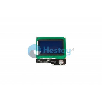128x64 graphic LCD screen