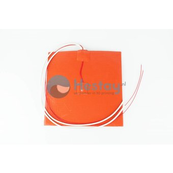 Silicone heating mat 200mm * 200mm 12V 200W