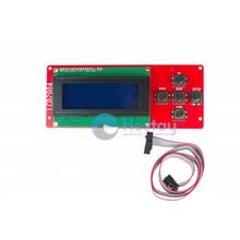 LCD 2004 Display Met blauwe achtergrond verlichting