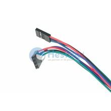4 Draads Kabel met 4 pins aansluitingen 1M