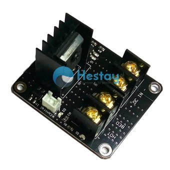 Heated bed mosfet PCB (12-24V / 25A)