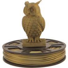 Bronze PLA Filament sample