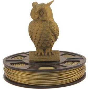 Bronze PLA Filament Test packaging