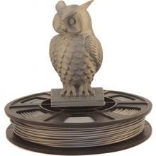 Aluminum PLA Filament sample