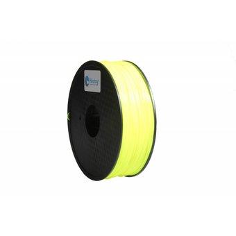 Flexible 3D Printer Filament Yellow