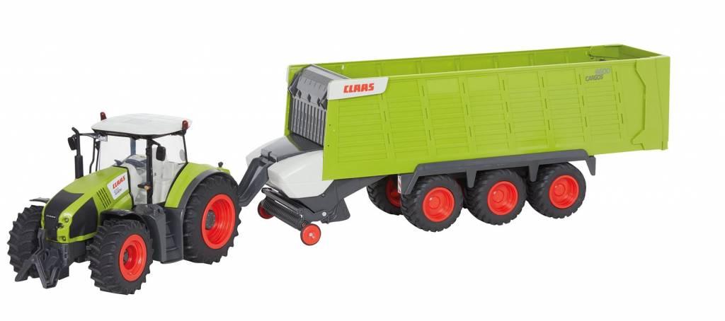 Claas Claas Axion 870 + Cargos 9600 RC 1:16 van Europlay