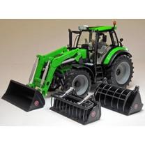 Deutz Fahr Weise Toys 1046 Deutz-Fahr Agrotron 6190 TTV met voorlader