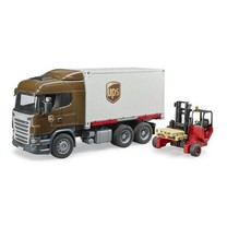 Transport speelgoed van Bruder