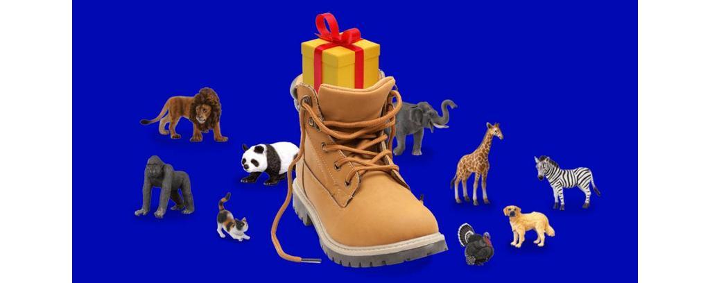 Ontvang een gratis schoencadeautje