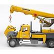Bruder kraanwagen  met Liebherr kraan - Mack Granite 1 :16 geel