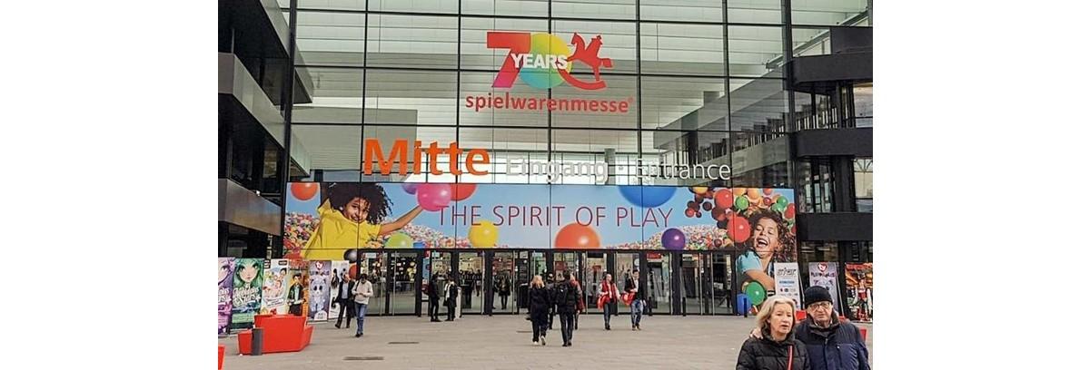 Sneak preview Spielwarenmesse 2019 en nieuw Bruder speelgoed!