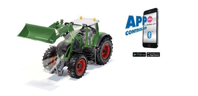 Nieuw van Siku Control: tractoren met Bluetooth besturing!