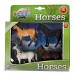 Kids Globe Paarden (4x) 1:32
