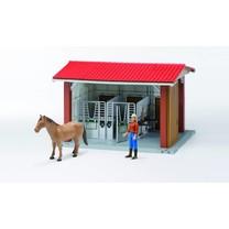 Bruder Manège avec figurine, cheval et accessoires 1:16