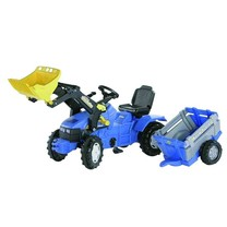 New Holland New Holland TM175+chargeur+NH mono-axe 3+
