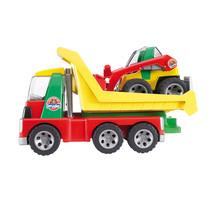 Roadmax Bruder Roadmax Transporter met mini shovel
