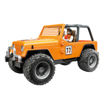 Jeep Bruder Jeep Cross Country Racer oranje