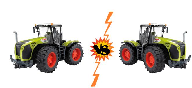 Is het speelgoed trekker of speelgoed tractor?