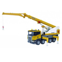 Scania Scania R-Series Liebherr camion grue 1:16