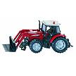 SIKU Massey Ferguson tractor met voorlader