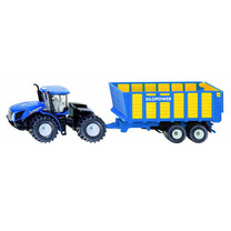 New Holland SIKU New Holland T9.560 met silagewagen