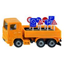 SIKU SIKU Vrachtwagen met verkeersborden