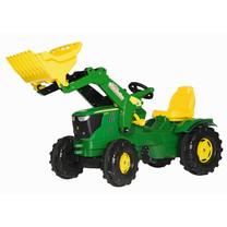 John Deere Rolly Toys rollyFarmtrac John Deere 6210R traptrekker met voorlader
