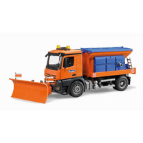 Mercedes Benz MB Arocs chasse neige avec lame 1:16