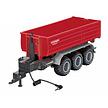 Siku Control 3-assige trailer met haaklift van Krampe