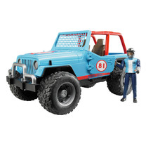 Jeep Bruder Jeep Cross Country racer blauw