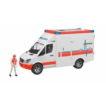 Mercedes Benz Bruder ambulance met ambulancebroeder