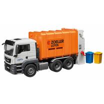 MAN MAN TGS camion poubelle avec chargement arrière (orange) 1:16