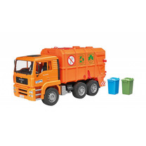 MAN MAN TGS camion poubelle (orange) 1:16