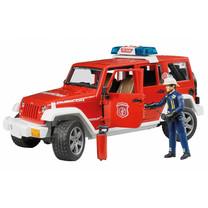 Jeep Jeep Wrangler Unlimited Rubicon voiture des pompiers et pompier 1:16