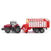 Massey Ferguson Massey-Ferguson Tracteur avec remorque Pöttinger Jumbo