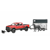 Dodge RAM Bruder Dodge Ram 2500 Power Wagon met paardentrailer