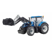 New Holland Bruder New Holland T7.315 met voorlader 1:16