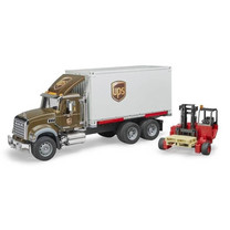 Mack Trucks Mack Granite UPS avec chariot élevateur 1:16