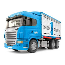 Scania Scania R-Series transport de bétail avec 1 vache 1:16