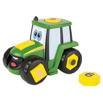John Deere Johnny le tracteur formes et chiffres