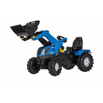 New Holland Rolly Toys rollyFarmtrac New Holland met voorlader