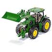 Siku Control op afstand bestuurbare John Deere 7310R tractor met voorlader en Bluetooth afstandsbediening