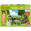 Puzzel Hooitijd op de boerderij 60 stukjes van Schmidt Puzzles
