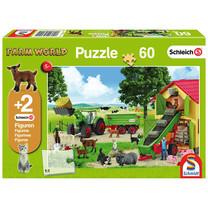 Schmidt Puzzle Hay time on the farm 60 pièces