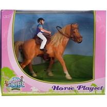 Kids Globe Paard en ruiter