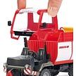 SIKU Lindner Unitrac tractor laadwagen