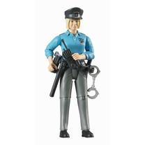 Bruder Femme policier avec accessoires 1:16