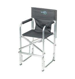 Bo-Camp Bo-Camp - Kinderstoel - Opvouwbaar - Aluminium - Antraciet