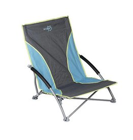Bo-Camp Bo-Camp - Beach chair - Compact - Blauw/grijs